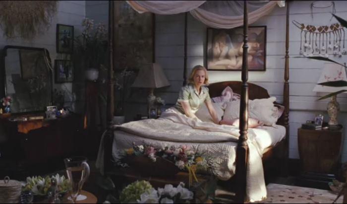 Lady Sarah Ashley's (Nicole Kidman) Bedroom in Movie, Australia
