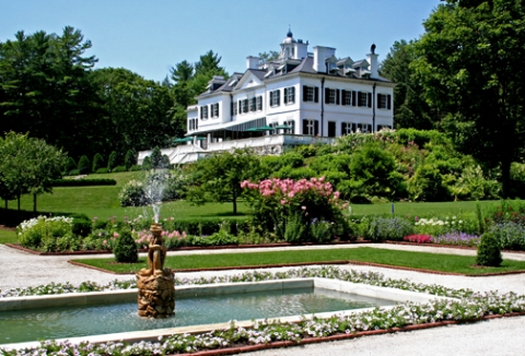 Tour The Library Drawing Room And Gardens Of Mount Home Edith Wharton