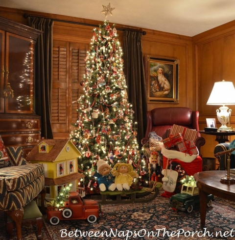 a visit from santa - Twas The Night Before Christmas Decorating Ideas
