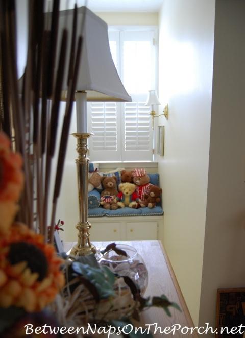 Living Room/Bonus (Upstairs) – Between Naps on the Porch