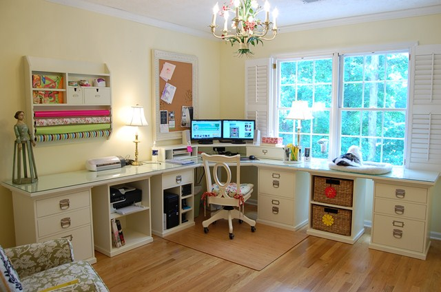 Pottery Barn Bedford Home Office, Craft & Sewing Room