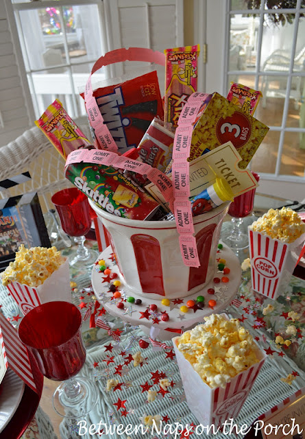 Children's Party Table: Movie Night