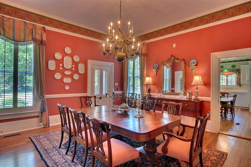 Historic home tour an 1880 victorian mansion beautiful Victorian dining room colors