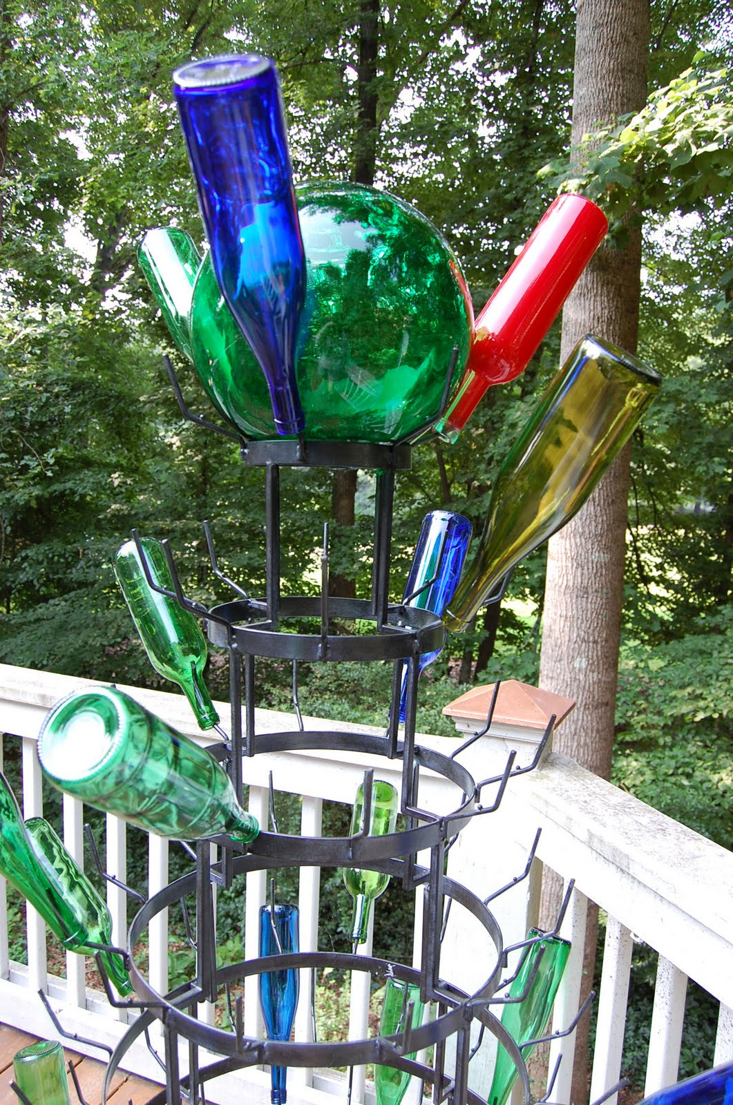 Bottle Tree Dreams and Yard Art Fantasies – Between Naps on the Porch