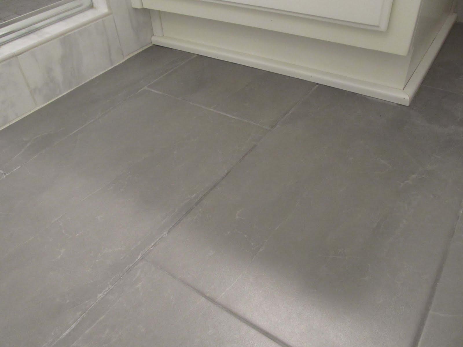tile floor for bathroom renovation