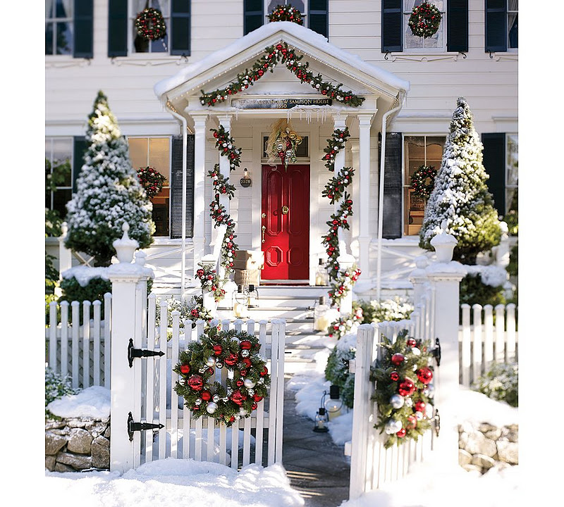Pottery Barn Christmas Garland Tutorial Between Naps On The Porch