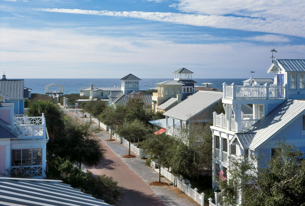 Great places to live dream towns and movie locations for Top beach towns in florida