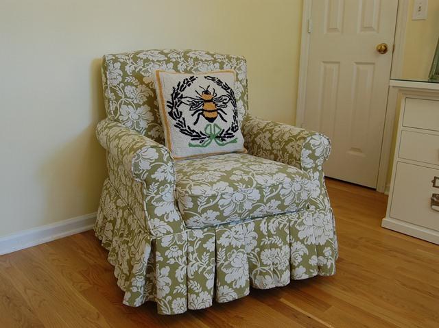 Needlepoint Bee Pillow from Ballard Designs