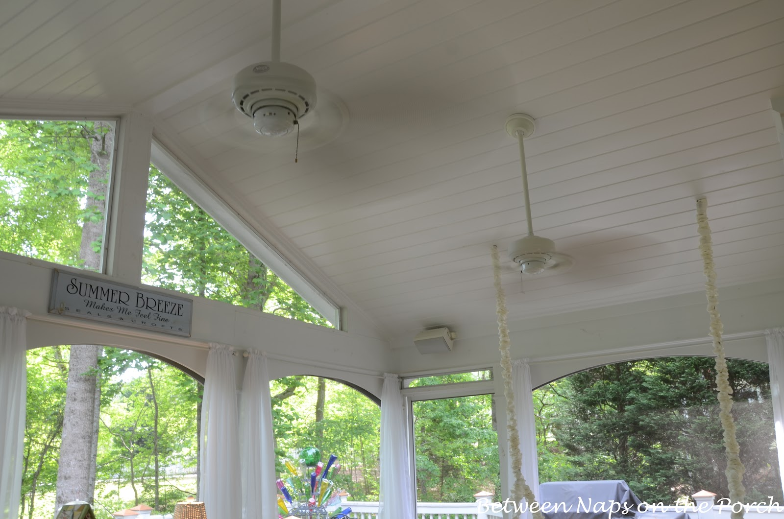 Springtime means porch time answers to your most faqs for Balcony ceiling