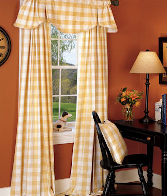 Buffalo Check Curtains Draperies