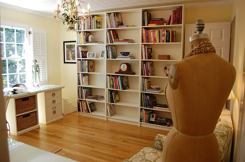IKEA Billy bookcases, bookshelves for the office