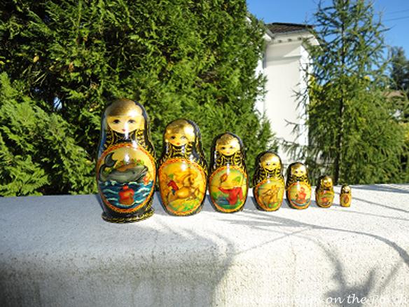 Matryoshkas nesting dolls