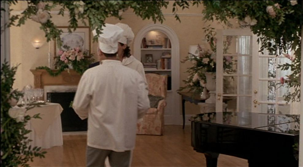 brides house decoration. Tour the Father of Bride Wedding Scene Home in Movie