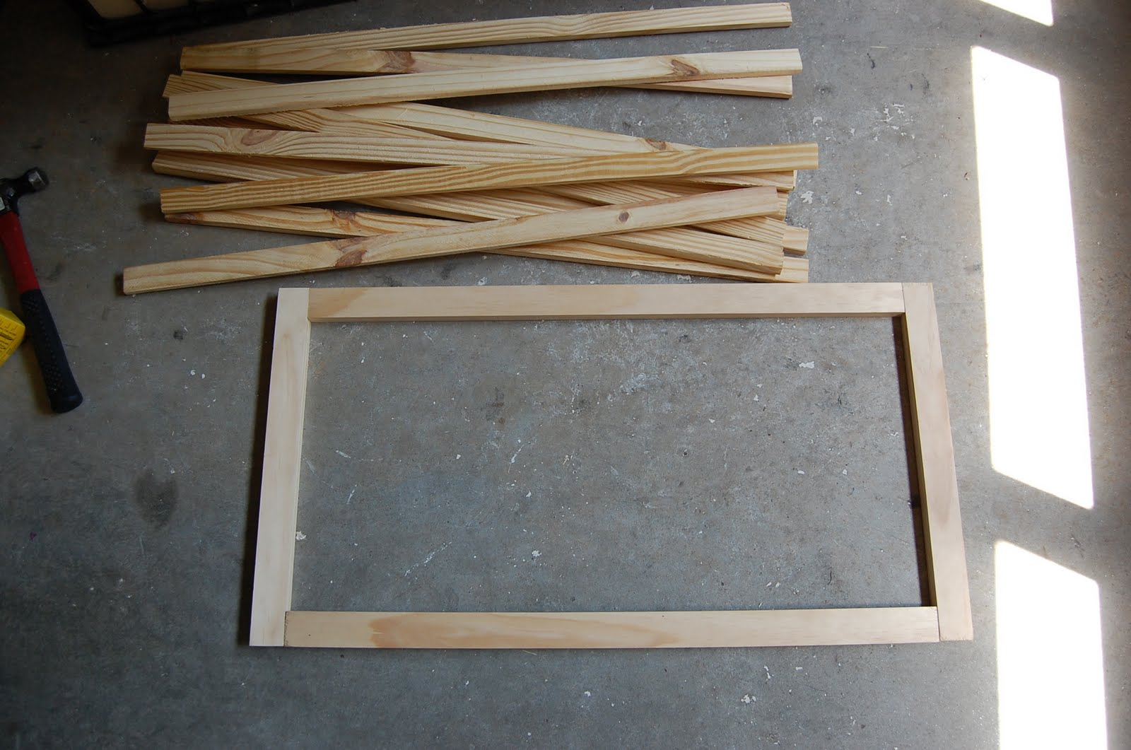 Build Wood Picture Frame