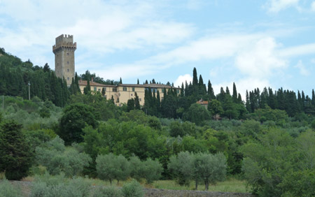 The Real Villa in the movie Under the Tuscan Sun: Villa Laura