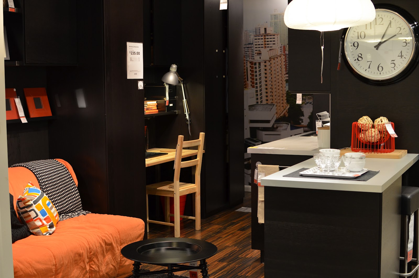 IKEA Has A Lot Of Areas Set Up As Rooms So You Can Sort See How Room Might Look With Their Furnishings This Would Be Great For Super Compact