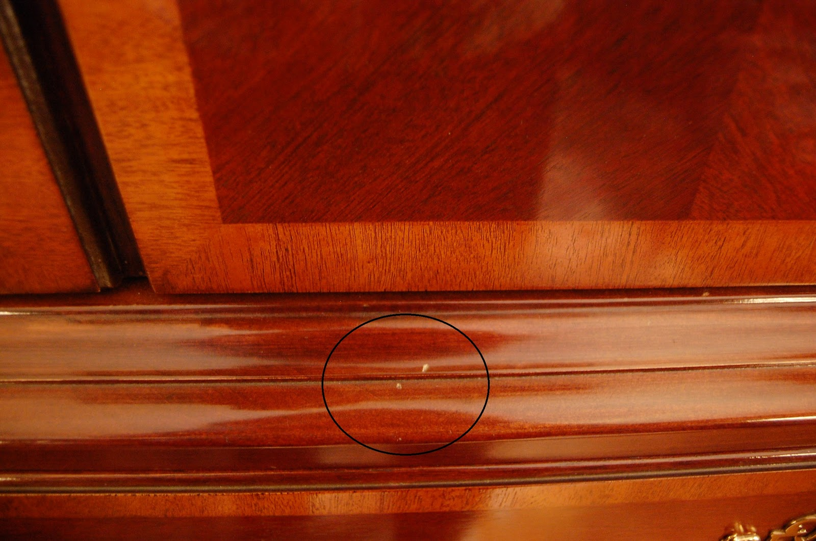 Hiding Scratches on Wood Furniture. Hiding Ugly Scratches on Furniture