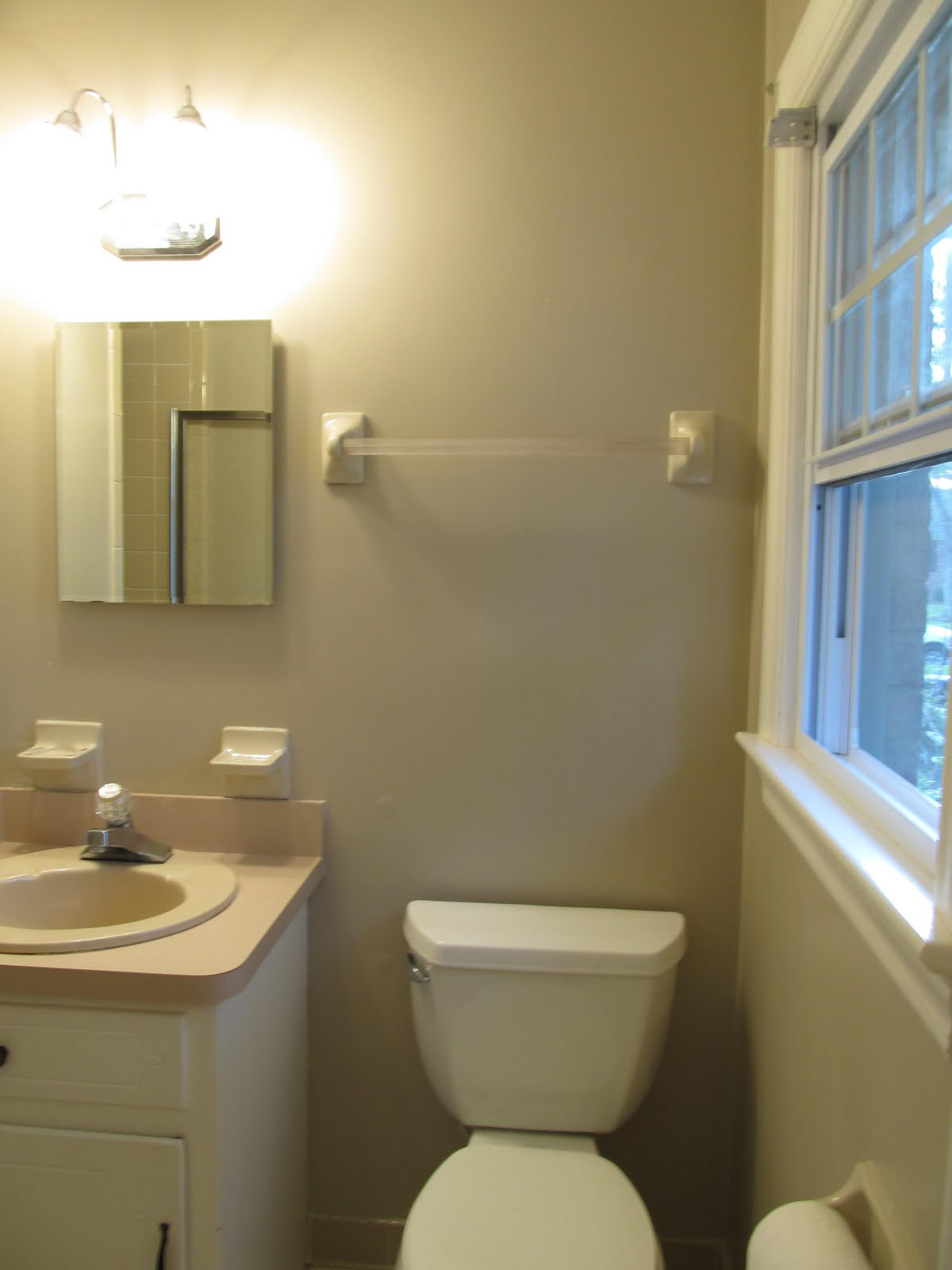 1980 s bath renovation sleek and modern for Do you need a permit to remodel a bathroom