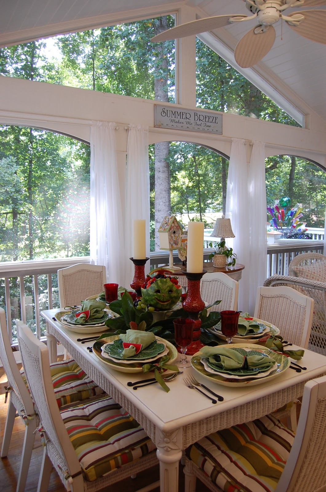 One Last Summer Tablescape
