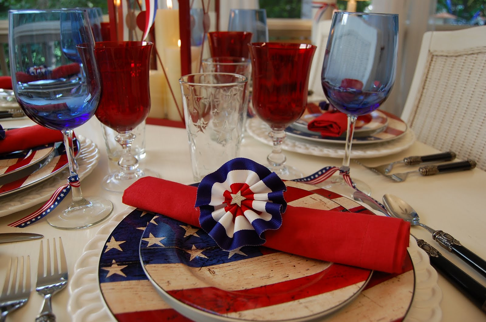 Diy 4th Of July Porch Bunting Interior Home Design Home Decorating