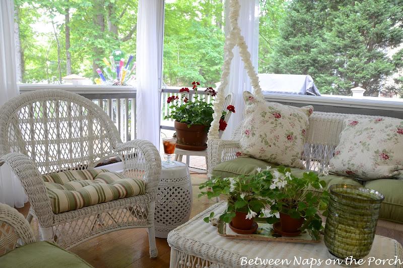 Ceramic Garden Seat, Garden Stool on the Porch