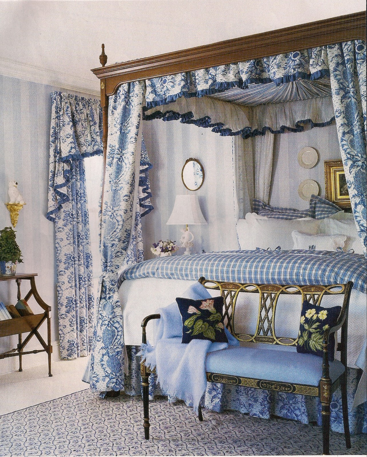 Beautiful Blue Bedrooms: Dreaming Of Beautiful Beds