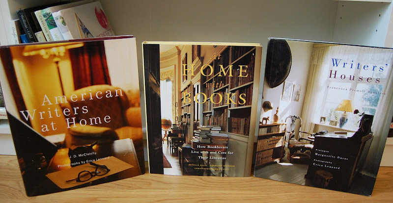 American Writers at Home, Writers' Houses, At Home with Books