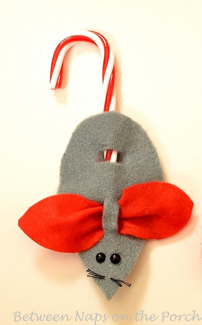 Mouse Christmas Ornament Craft
