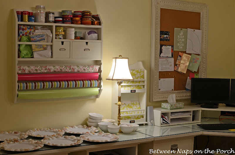 Pottery Barn Home Office, Craft and Sewing Room