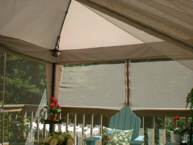 Screen in your deck easily inexpensively for Tj garden rooms