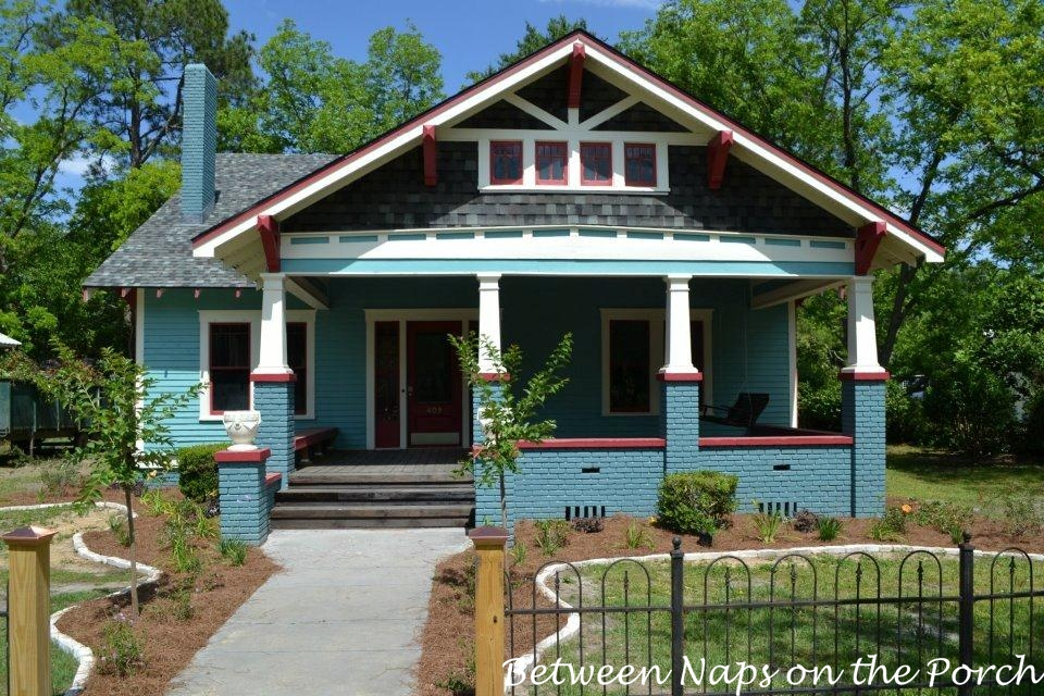 Historic tyson stedham home restoration for Bungalow show homes