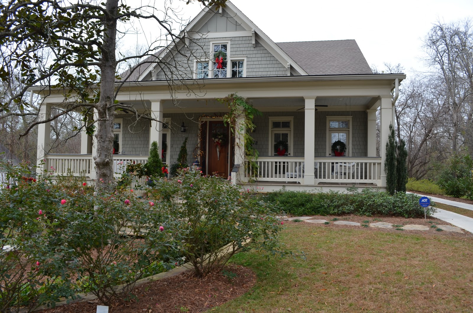 A christmas tour of historic homes in marietta georgia for House builders in ga