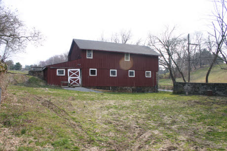The barn in the movie, Marley & Me