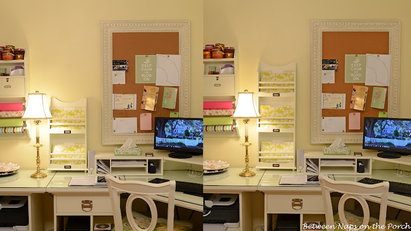 Pottery Barn Bedford Home Office Addition