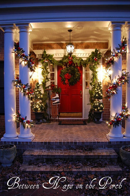 Decorate Your Porch for Christmas – Between Naps on the Porch on house playground design, house hall design, house walkway design, dining room design, modern beach house interior design, living room design, house front design, driveway design, church bookstore design, house architecture design, building entry design, house building design, house entryway design, house stage design, house balcony design, house floor design, corridor design, house green design, house study design, house key design,