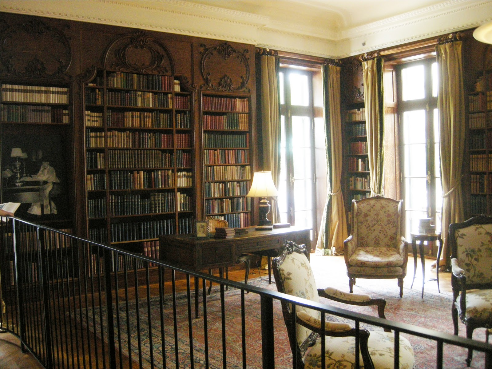 Tour The Library Drawing Room And Gardens Of The Mount