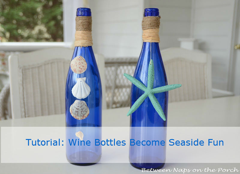 Seaside Beach Craft with Bottles