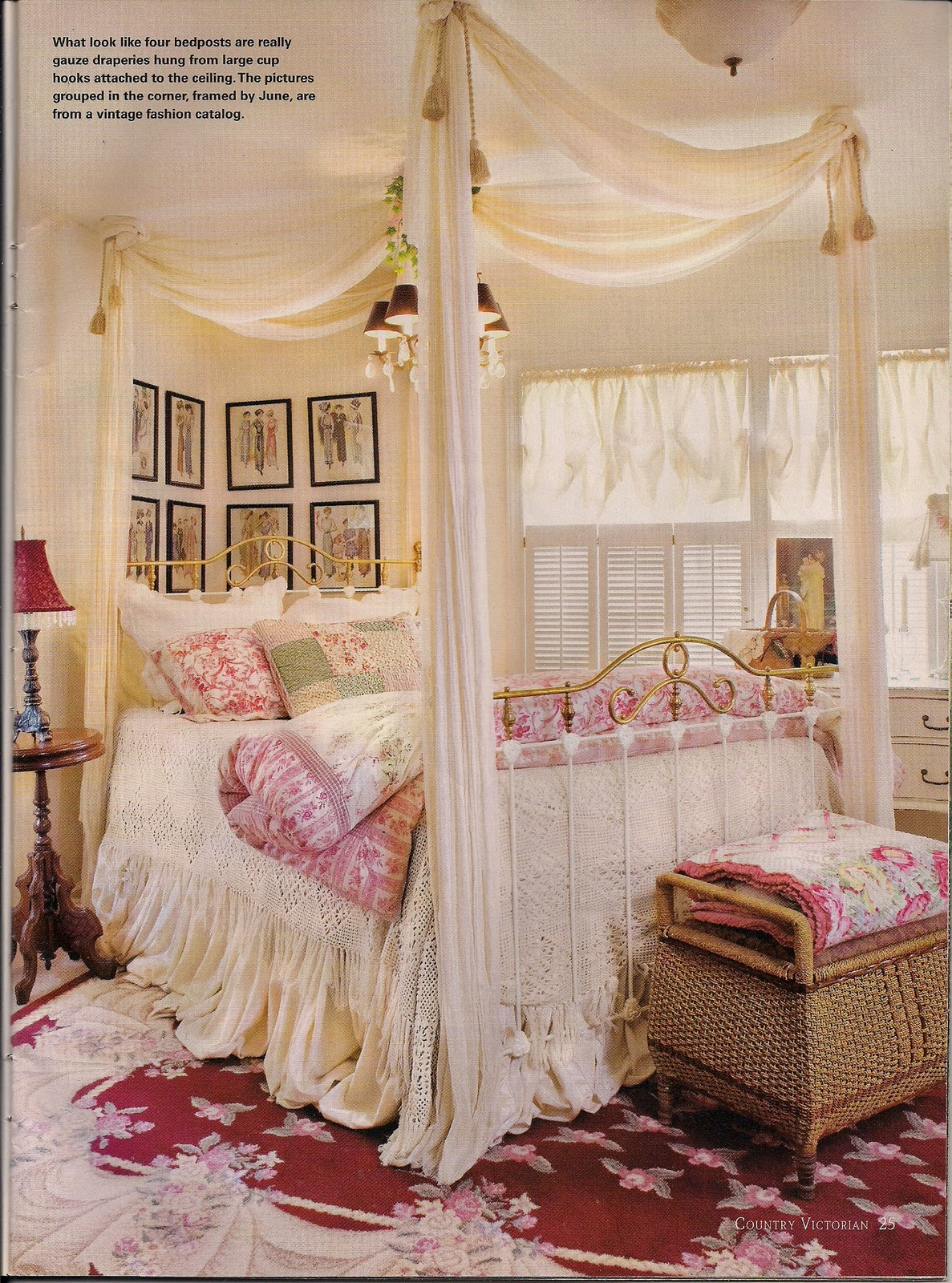 Dreaming of beautiful beds Victorian bedrooms