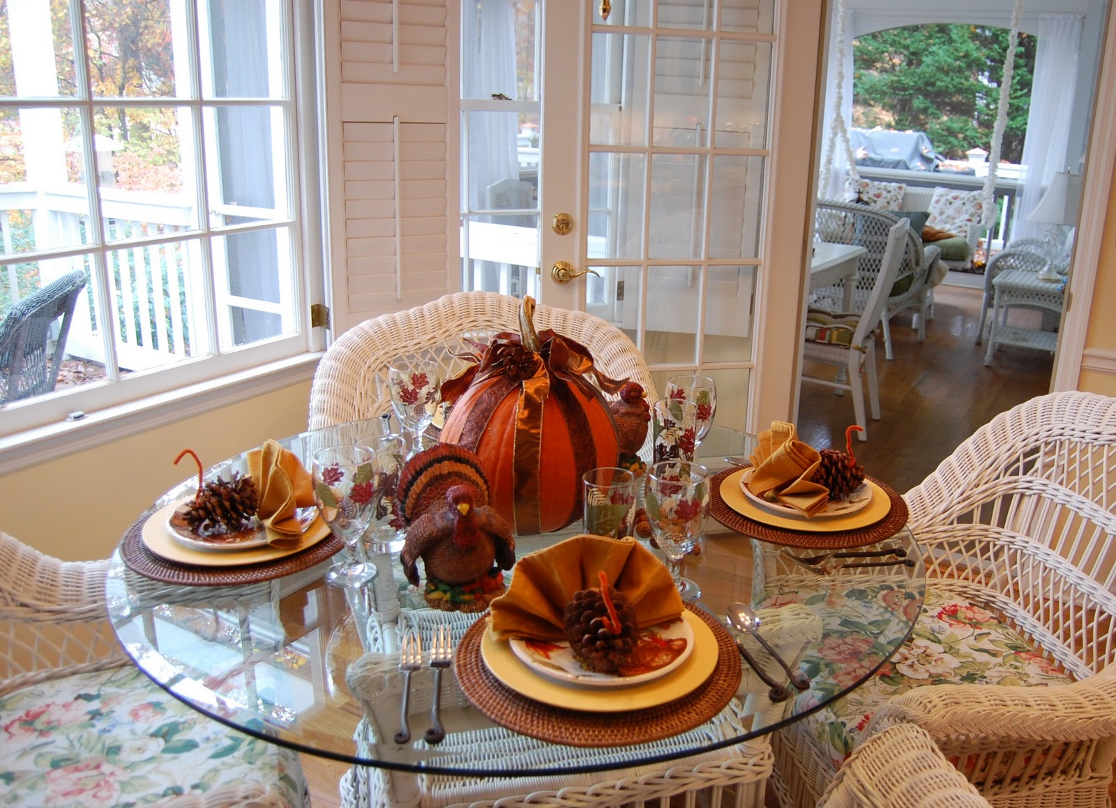 Pottery Barn Dining Room Tables Thanksgiving Tablescape For The Kids