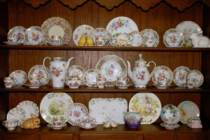 Display or Decorate with Dishes for Spring