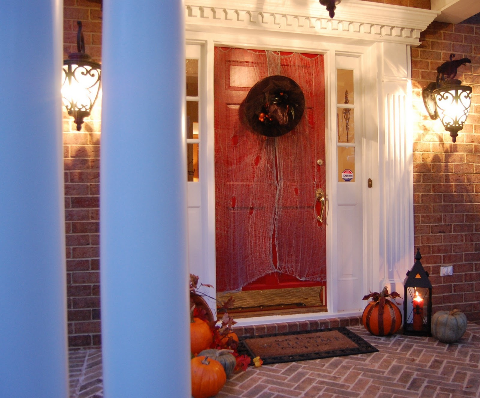 Halloween front porch decorations - Halloween Front Porch Decorations