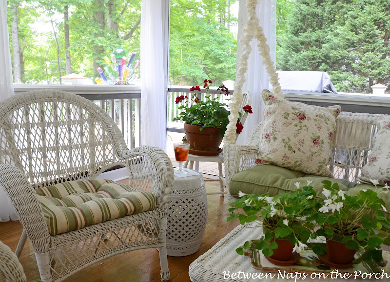 Ceramic Garden Seat, Garden Stool on the Porch