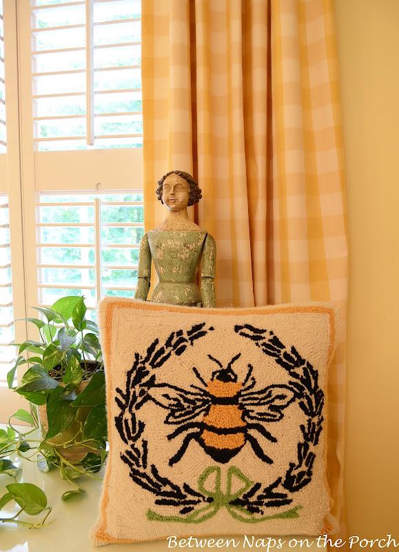 Ballard Designs Napolean Bee Pillow