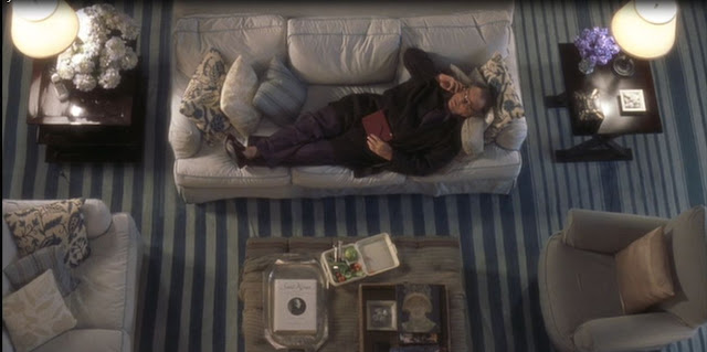 Rug in Living Room of the Beach House in the Movie, Something's Gotta Give