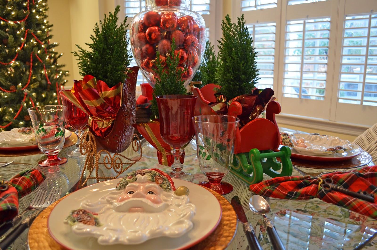 Christmas Plates For Santa