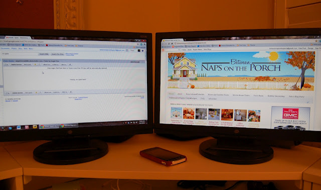 Dual Monitors: How I Use Them to Blog and Work