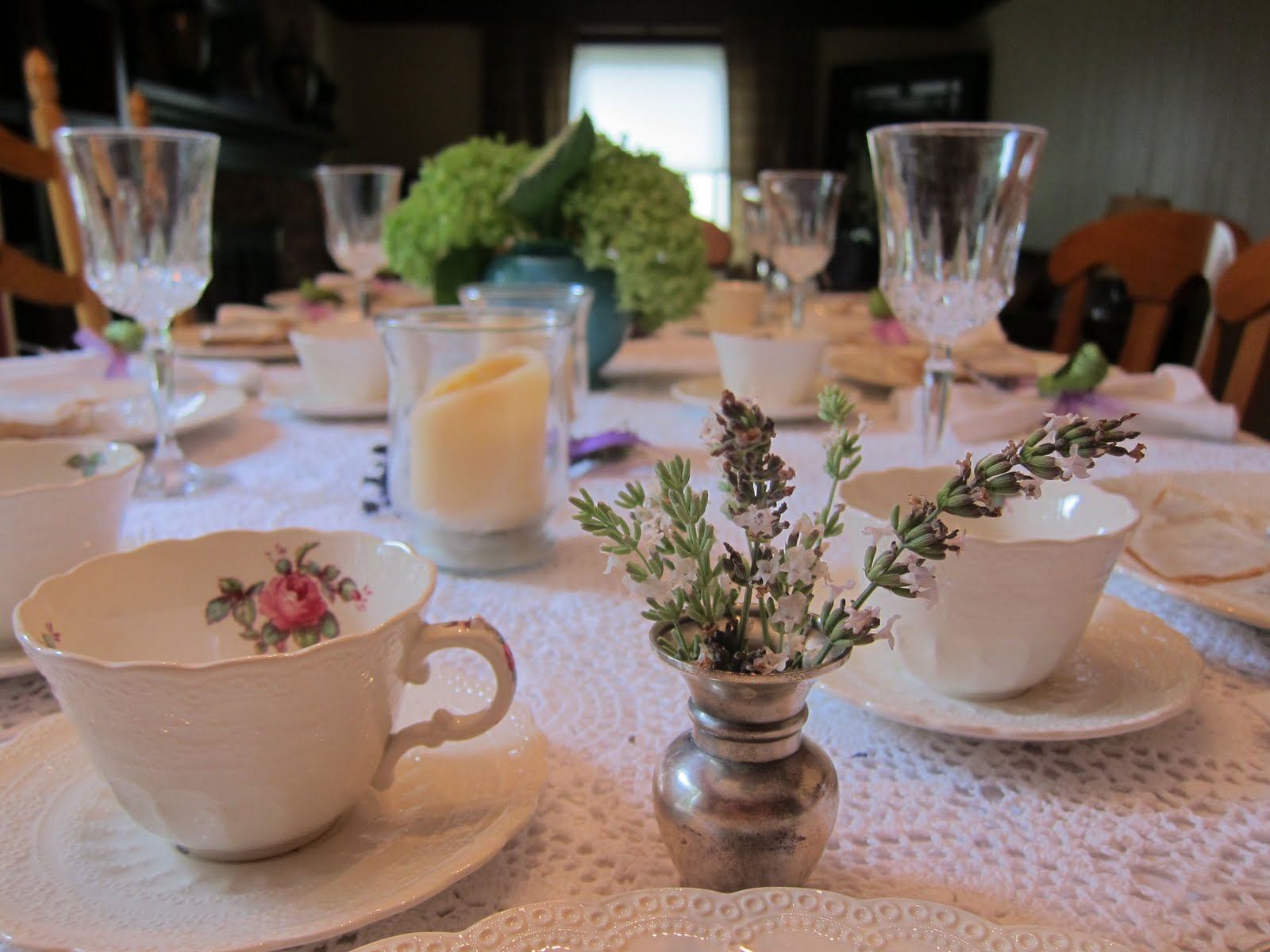 tea table settings tables - photo #43