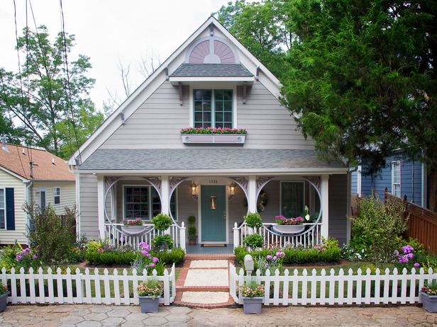 Beautiful Curbside Transformations On A Budget