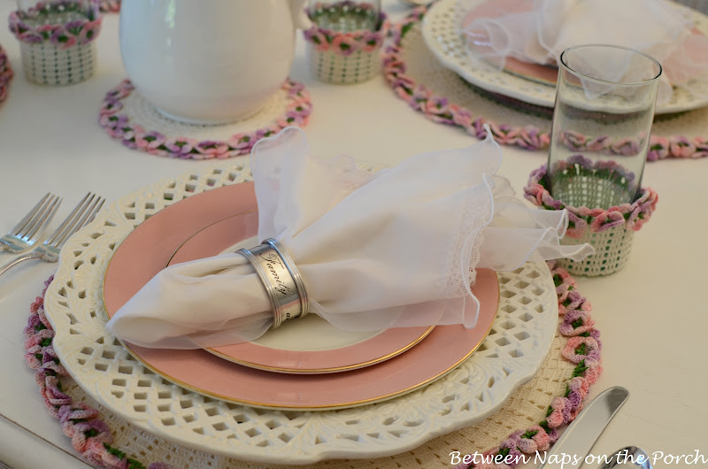 Mother's Day Table Setting