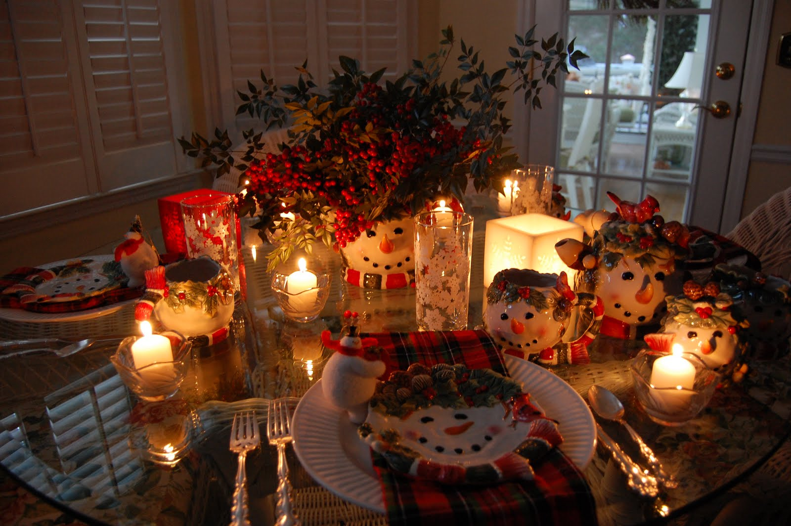 Christmas Dinner Napkins